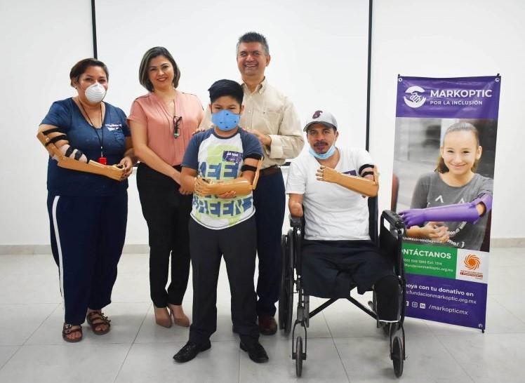 Programa de Donación de Prótesis de Antebrazo - Markoptic 2020