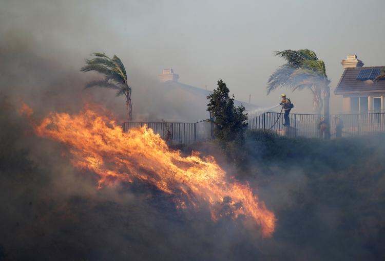 """Los """"Vientos de Santa Ana"""", un verdadero riesgo ambiental"""